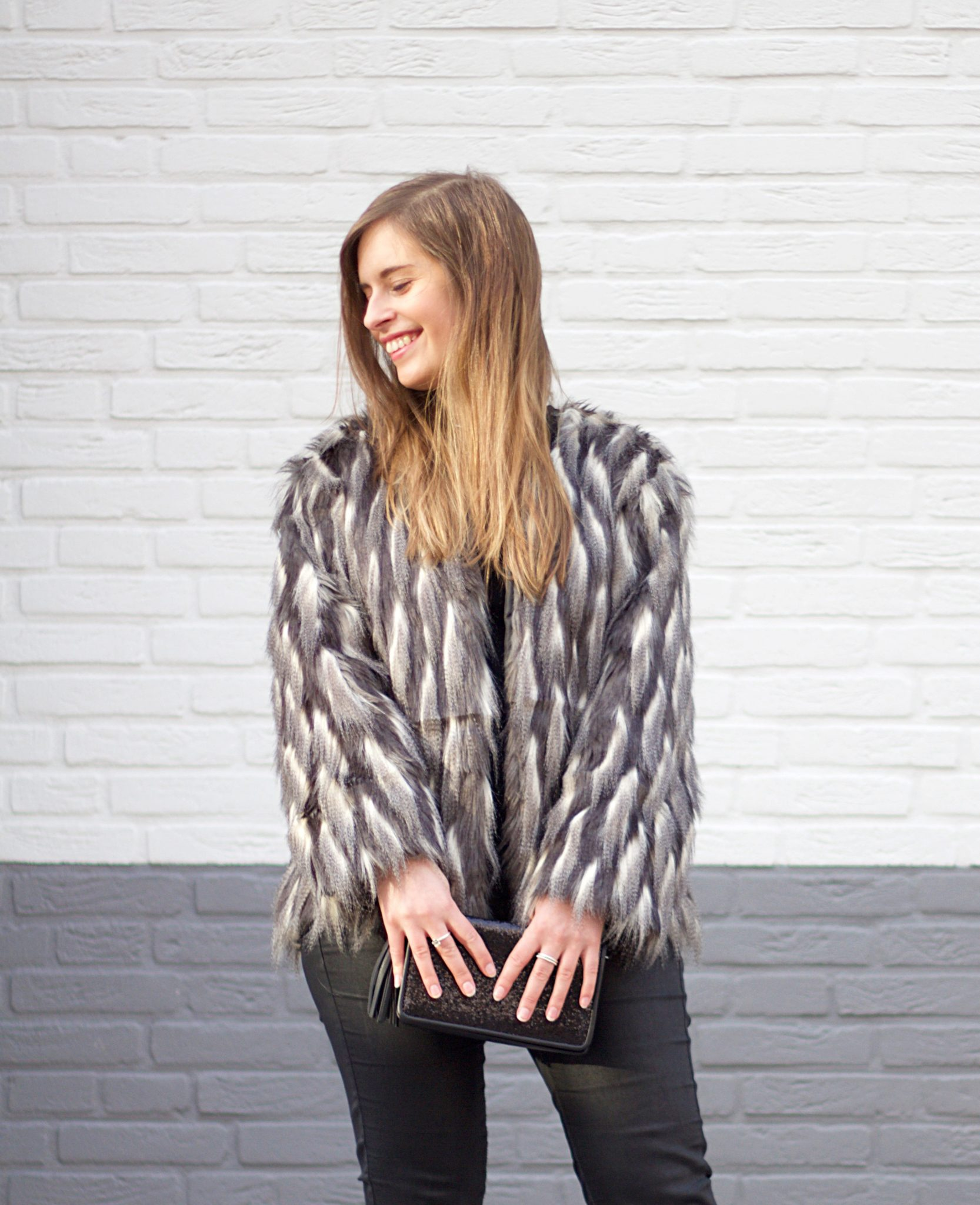 How to wear a Faux Fur coat