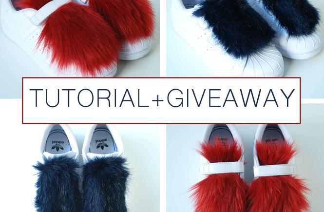 faux-fur-sneakers-diy-tutorial