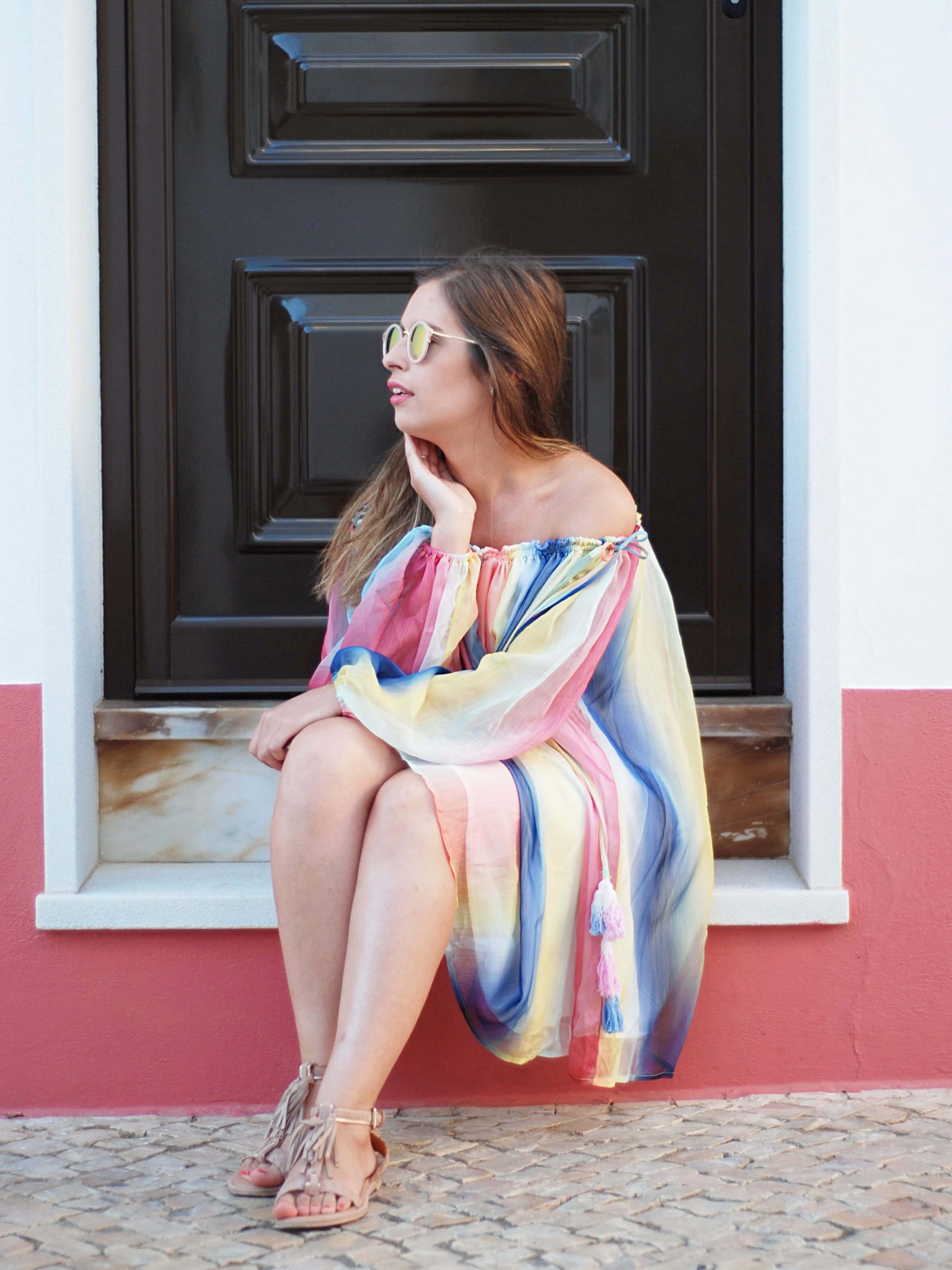 rainbow-dress-look