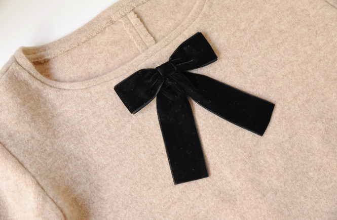 bow-sweater-thepetitecat-DIY