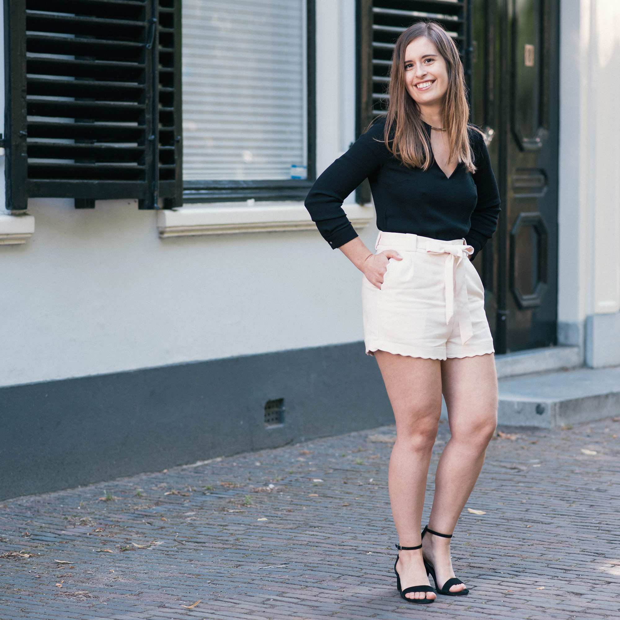 Scalloped-Hem-Shorts-thepetitecat-lookbook