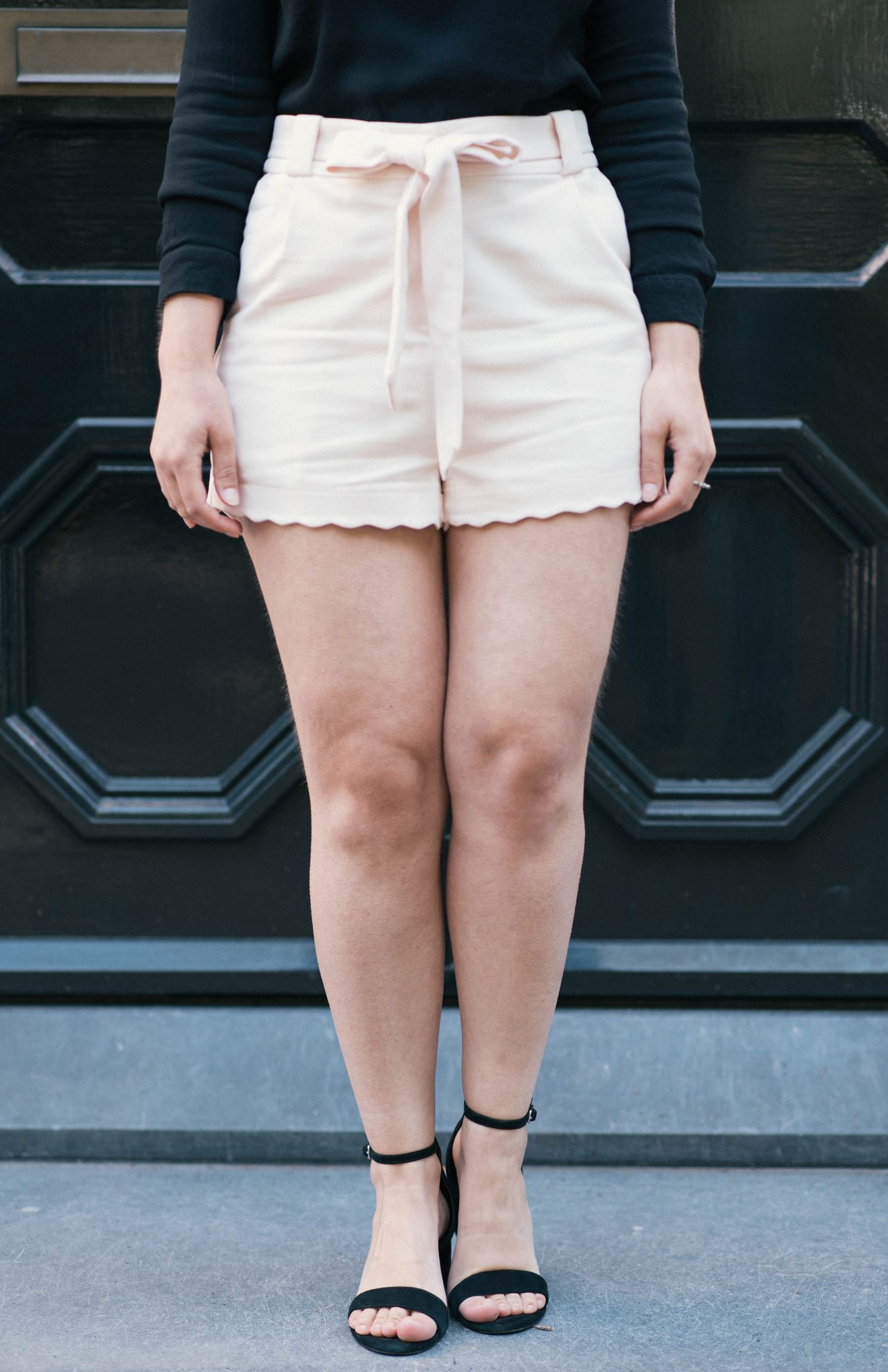 Scalloped-Hem-Shorts-thepetitecat-summer-style