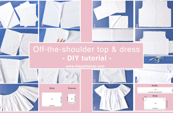 diy-tutorial-off-the-shoulder-top-and-dress-thepetitecat