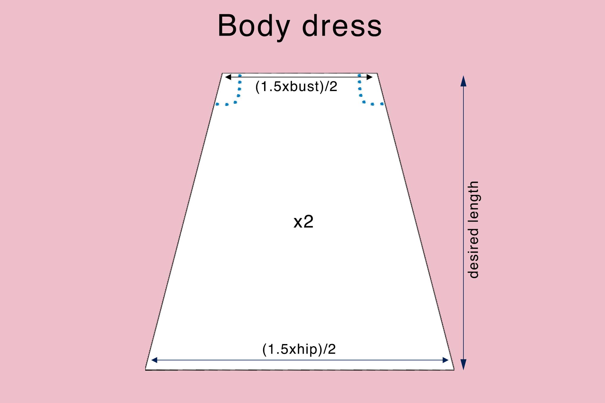 diy-tutorial-off-the-shoulder-top-and-dress-thepetitecat-pattern3