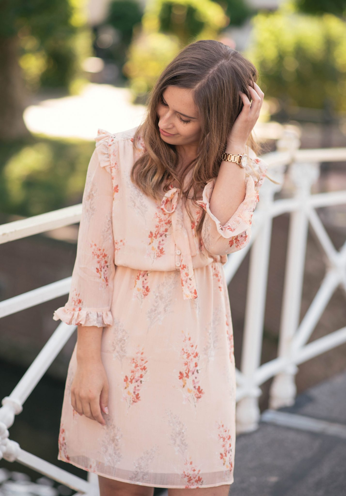 blush-floral-dress-mango-thepetitecat
