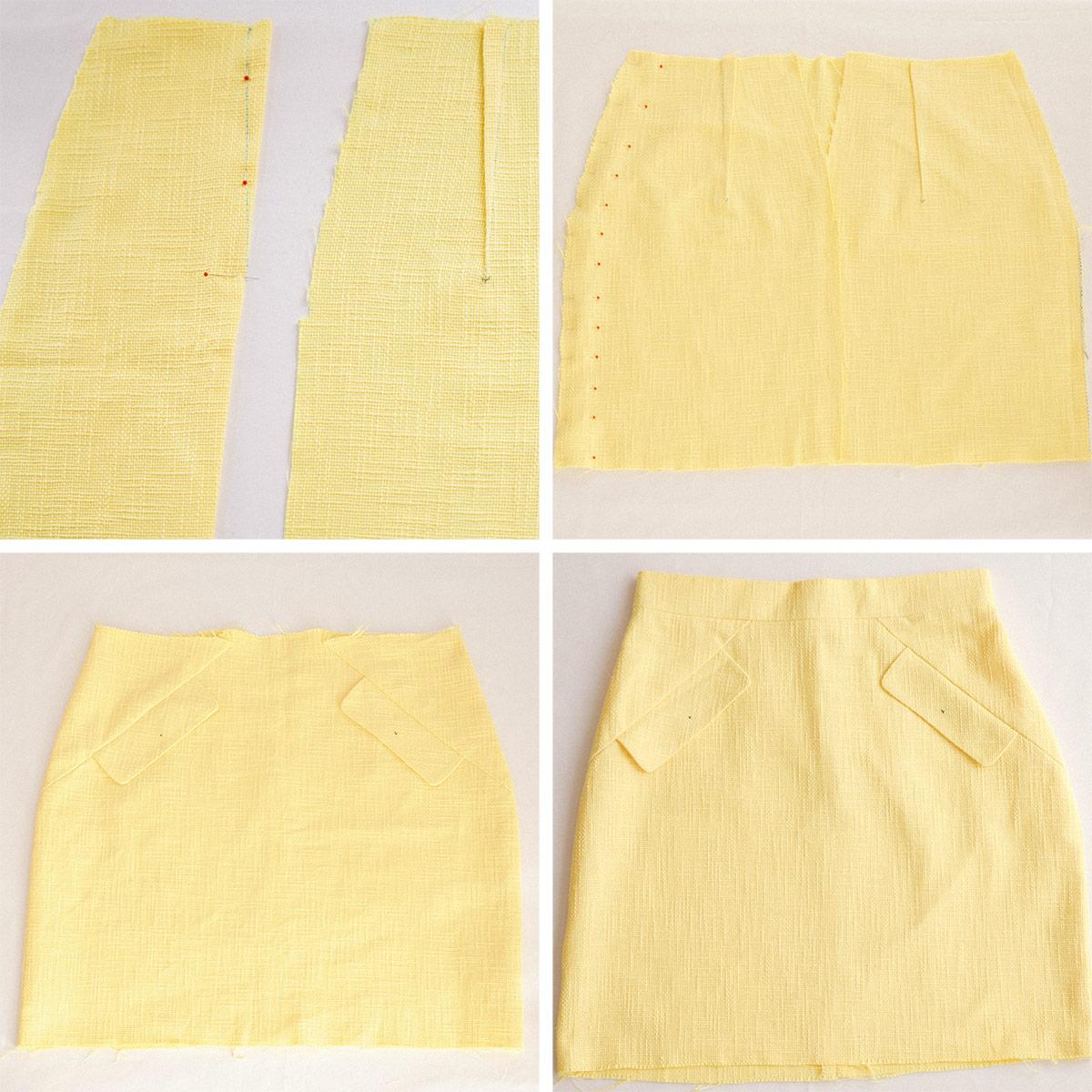 chanel-inspired-skirt-burda-thepetitecat-3