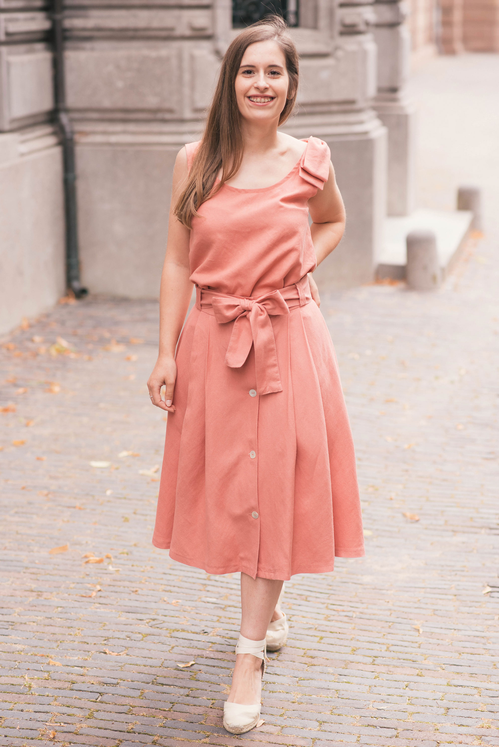 burda style sezane inspired summer set th epetitecat vs pretty mercerie