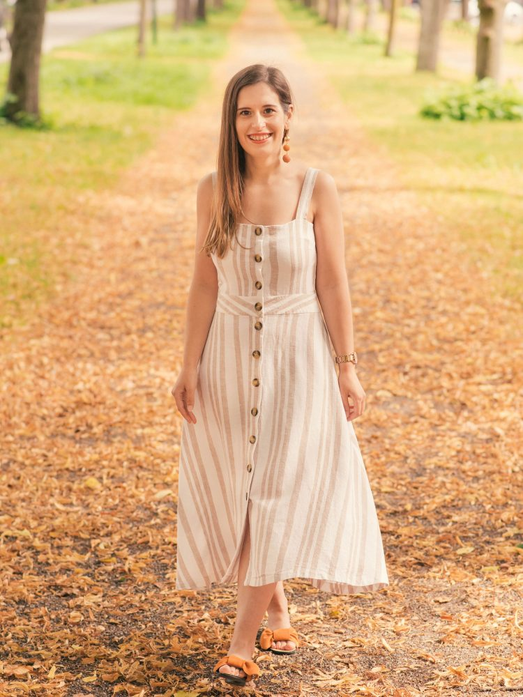 What I made | The Seren dress by Tilly and the Buttons