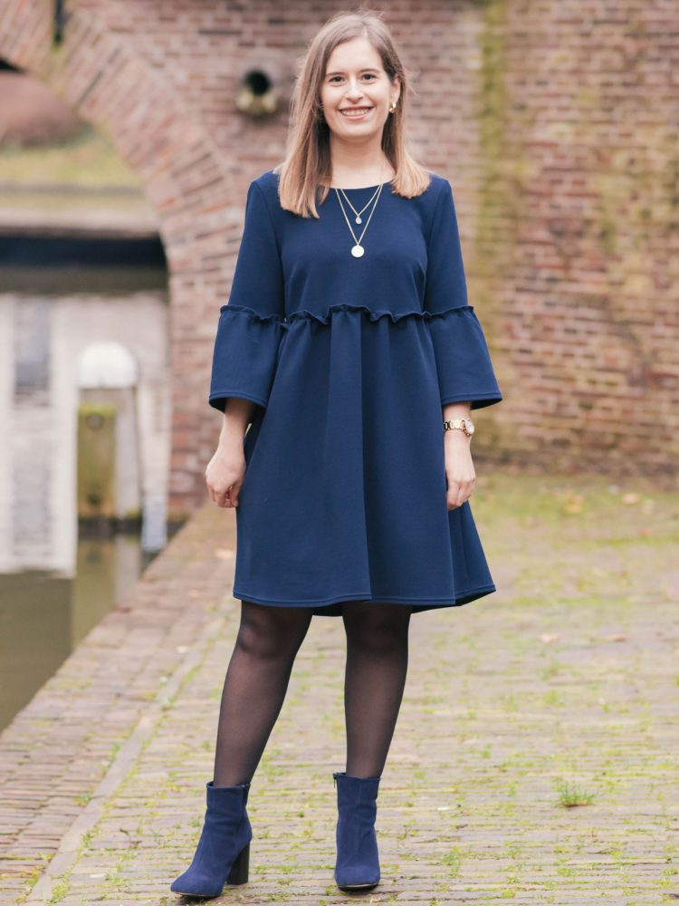 What I made | The Indigo smock dress by Tilly and the Buttons